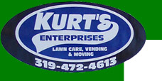 Kurt's Enterprises - Vinton, Iowa - Lawn & Landscaping, Rentals, Ponds, Iron Shed Fitness Club